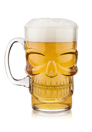 Skull Pint