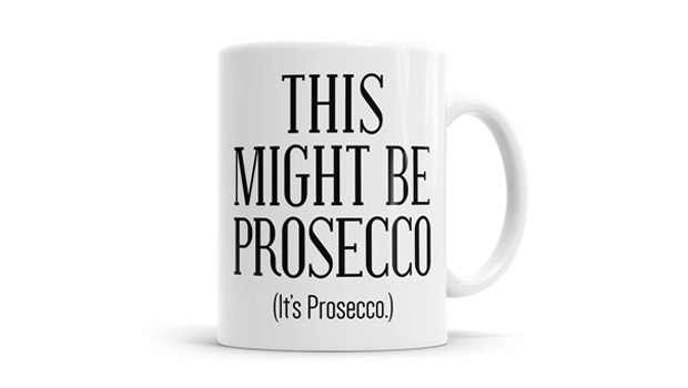 this might be prosecco mug
