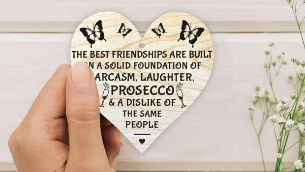 Etsy wooden heart plaque